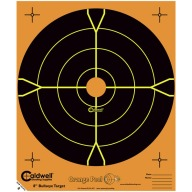 "CALDWELL ORANGE PEEL TARGETS 8"" BULL 5pk"