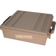 "MTM AMMO CRATE FLAT DARK EARTH IN:19""x15.75""x5.25"""