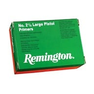 REMINGTON PRIMER 2-1/2 LARGE PISTOL 1000/BOX