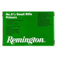 REMINGTON PRIMER 6-1/2 SMALL RIFLE 5000/CASE
