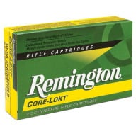REMINGTON AMMO 25-06 REMINGTON 100gr CORE-LOKT PSP 20/bx 10/cs