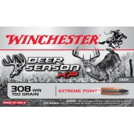 WINCHESTER AMMO 308 WINCHESTER DEER- SEASON 150gr EP 20/b 10/c
