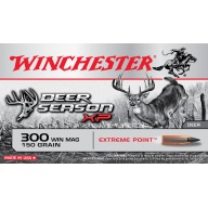 WINCHESTER AMMO 300 WINCHESTER DEER- SEASON 150gr EP 20/b 10/c