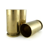 RANGE BRASS 45 ACP ONCE- FIRED PROCESSED PER 500