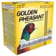 "FIOCCHI AMMO 12ga 3"" GP-NICKEL 1200fps 1.75oz #6 25b 10c"
