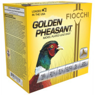 "FIOCCHI AMMO 16ga 2.75"" NICKEL 1310fps 1-1/8oz #5 25/bx"