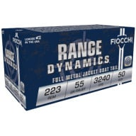 FIOCCHI AMMO 223 REMINGTON 55gr FMJBT 50/bx 20/cs