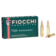 FIOCCHI AMMO 223 REMINGTON 55gr PSP 20/bx 10/cs