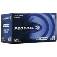 FEDERAL PRIMER LARGE RIFLE 5000/CASE