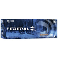 FEDERAL AMMO 270 WSM 130gr SP (P/S) 20/bx 10/cs
