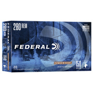 FEDERAL AMMO 280 REMINGTON 150gr SP (P/S) 20/bx 10/cs