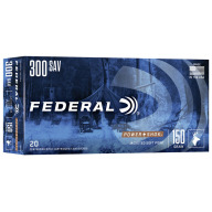 FEDERAL AMMO 300 SAVAGE 150gr SP (P/S) 20/bx 10/cs