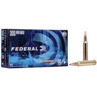 FEDERAL AMMO 300 WINCHESTER 180gr SP (P/S) 20/bx 10/cs