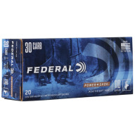 FEDERAL AMMO 30 CARBINE 110gr SP-RN (P/S) 20/bx 10/cs