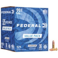 FEDERAL AMMO 22LR Hi-Vel 36gr COPPER-HP 525/bx 10/cs