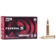 FEDERAL AMMO 223 REMINGTON 55gr FMJ -BT AM.-EAGLE 20/bx 25/cs