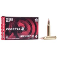 FEDERAL AMMO 223 REMINGTON 62gr FMJ AM.-EAGLE 20/bx 25/cs