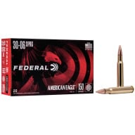 FEDERAL AMMO 30-06 SPR. 150gr FMJ AM.-EAGLE 20/bx 25/cs
