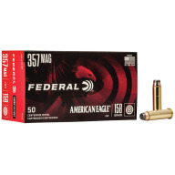 FEDERAL AMMO 357 MAG 158gr JSP AM.-EAGLE 50/bx 20/cs