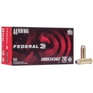 FEDERAL AMMO 44 MAG 240gr JHP AM.-EAGLE 50/bx 20/cs