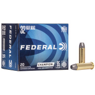 FEDERAL AMMO 32 H&R MAG 95gr LEAD-SWC 20/bx 25/cs