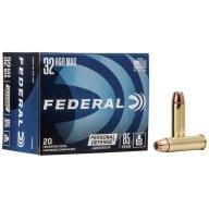 FEDERAL AMMO 32 H&R MAG 85gr JHP (P/D) 20/bx 25/cs