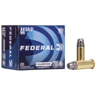 FEDERAL AMMO 44 SPL 200gr SWC-HP 20/bx 25/cs