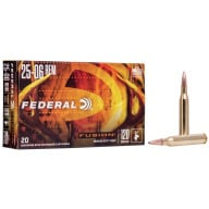 FEDERAL AMMO 25-06 REMINGTON 120gr FUSION-BT 20/bx 10/cs