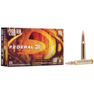 FEDERAL AMMO 280 REMINGTON 140gr FUSION-BT 20/bx 10/cs