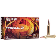 FEDERAL AMMO 7MM REMINGTON 175gr FUSION-BT 20/bx 10/cs