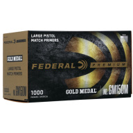 FEDERAL PRIMER LARGE PISTOL MATCH 5000/CASE