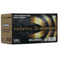FEDERAL PRIMER LARGE PISTOL MAGNUM MATCH 5000/CASE