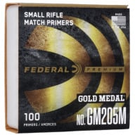FEDERAL PRIMER SMALL RIFLE MATCH 5000/CASE