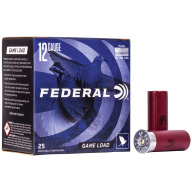 "FEDERAL AMMO 12ga 2.75"" 3.25d 1oz #7.5 25/bx 10/cs"