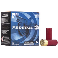 "FEDERAL AMMO 12ga 2.75"" 3.25d 1-1/8oz #7.5 25/bx 10/cs"