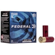 "FEDERAL AMMO 12ga 2.75"" 3.75d 1.25oz #4 25/bx 10/cs"