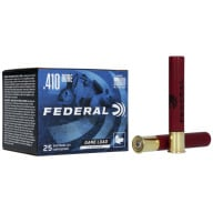 "FEDERAL AMMO 410ga 3"" MAXd 11/16oz #6 25/bx 10/cs"