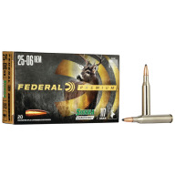 FEDERAL AMMO 25-06 REMINGTON 117gr SRA-SPBT (V/S) 20/b 10/c