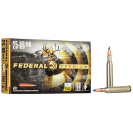 FEDERAL AMMO 25-06 REMINGTON 100gr NOSLER-BT (V/S) 20/bx 10/cs