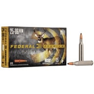 FEDERAL AMMO 25-06 REMINGTON 115gr NOSLER-PART.(V/S) 20/b 10/c
