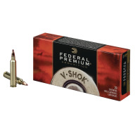 FEDERAL AMMO 25-06 REMINGTON 85gr NOSLER-BT (V/S) 20/bx 10/cs