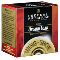 "FEDERAL AMMO 20ga 2.75"" 2.75d 1-1/8oz #4 25/bx 10/cs"
