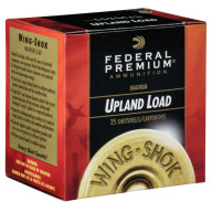 "FEDERAL AMMO 20ga 3"" 3dram 1.25oz #4 25/bx 10/cs"