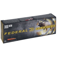 FEDERAL AMMO 300 WSM 180gr NOSLER-PART.(V/S) 20/b 10/c