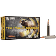 FEDERAL AMMO 7MM REMINGTON 140gr NOSLER-PART.(V/S) 20/b 10/c