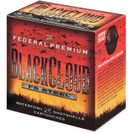"FEDERAL AMMO 12ga 3"" BL-CLOUD 1450fps 1.25 #2B 25b 10c"