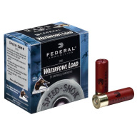 "FEDERAL AMMO 12ga 3"" STEEL 1400fps 1.25oz #4 25b 10c"