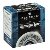 "FEDERAL AMMO 12ga 2.75"" STEEL 1375fps 1oz #7 25/b 10/c"
