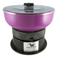 GRAF VIBRATORY TUMBLER 110v w/SWITCH & CLEAR LID