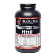 HODGDON H110 1LB POWDER (1.4c) 10/CS